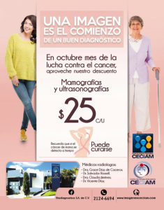 Mamograf�as y Ultrasonograf�as a $25.00