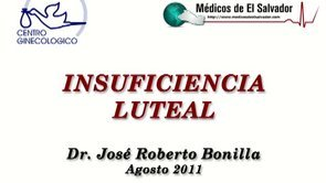 Video de Insuficiencia luteal